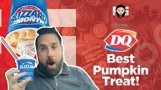 Best Pumpkin Dessert  Dairy Queen Pumpkin Pie Blizzard Review 2021