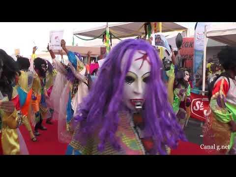 Canal g  net PRESENTE Le carnaval 2018 du Gosier en Guadeloupe Vidéo produite par Romy Mirefleur