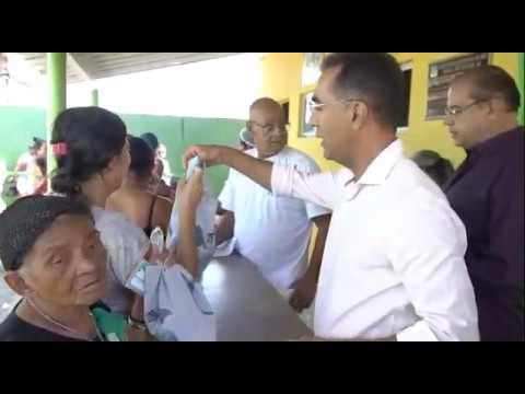 Prefeito de São Miguel dos Campos Pedoca Jatobá reinaugura Padaria municipal