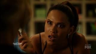 Lucifer 3x12 Maze gives Linda a Knife  Season 3 Episode 12 S03E12