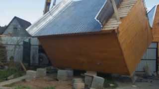 Опять Кончаловские горы. Наводнение в Обнинске