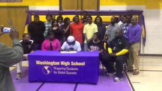 Jamaar McKay Signs his National Letter of Intent
