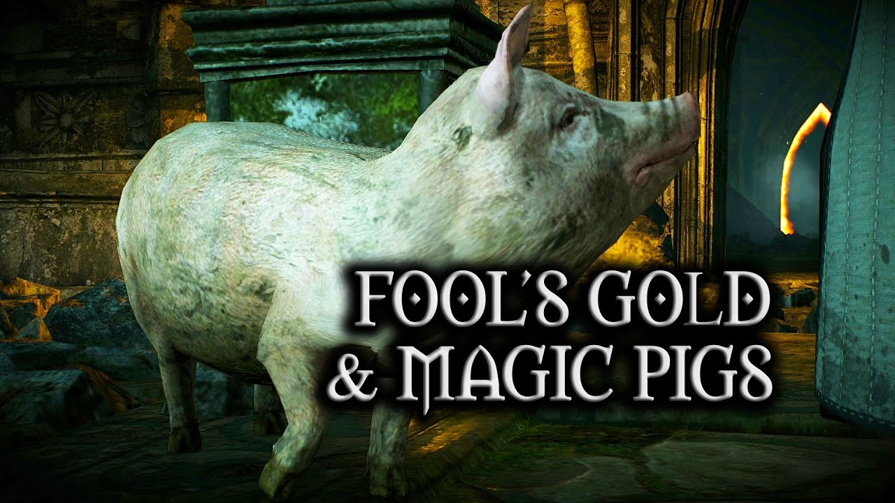 The Witcher 3: Wild Hunt - Fool's Gold & Magic Pigs (DLC quest)