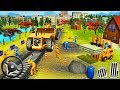 Construction Vehicles - Railroad Builder | Indian Train City Drive Road Sim 2018 - Android GamePlay