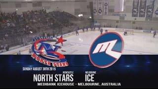 #AIHLFinals 2015 - GF: Melbourne Ice Vs Newcastle North Stars