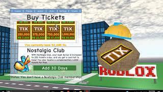 ROBLOX | Buying a Domino Crown in Super Nostalgia Zone