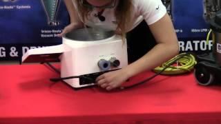 How to setup the Mikro Air Jet SIeve MAJ