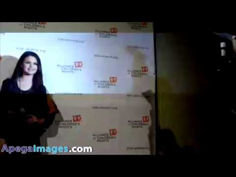 Selena Gomez supports the Alliance for Children's Rights Dinner