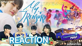[ REACTION ]  트레저  -  MMM  | MY TREASURE | WEB DRAMA EP.36 #หนังหน้าโรงxTREASURE