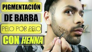Cómo Pintar La Barba  Pigmentación Pelo Por Pelo  Xelbor