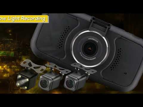 Falcon Electronics EagleEye4 - 3-4 Cam Dashcam Information Video