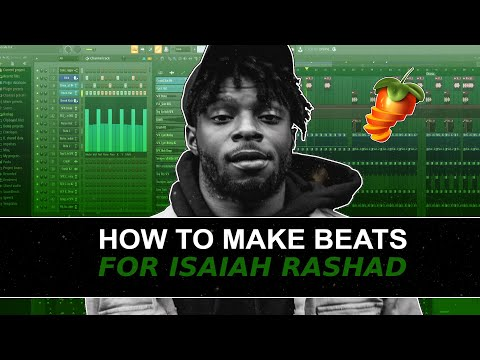 MAKING A CHILL BEAT FOR ISAIAH RASHAD  | How D. Sanders Makes Beats For Isaiah Rashad 🧊🏠