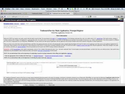 How to File a Trademark Application in the U.S. - Part 1