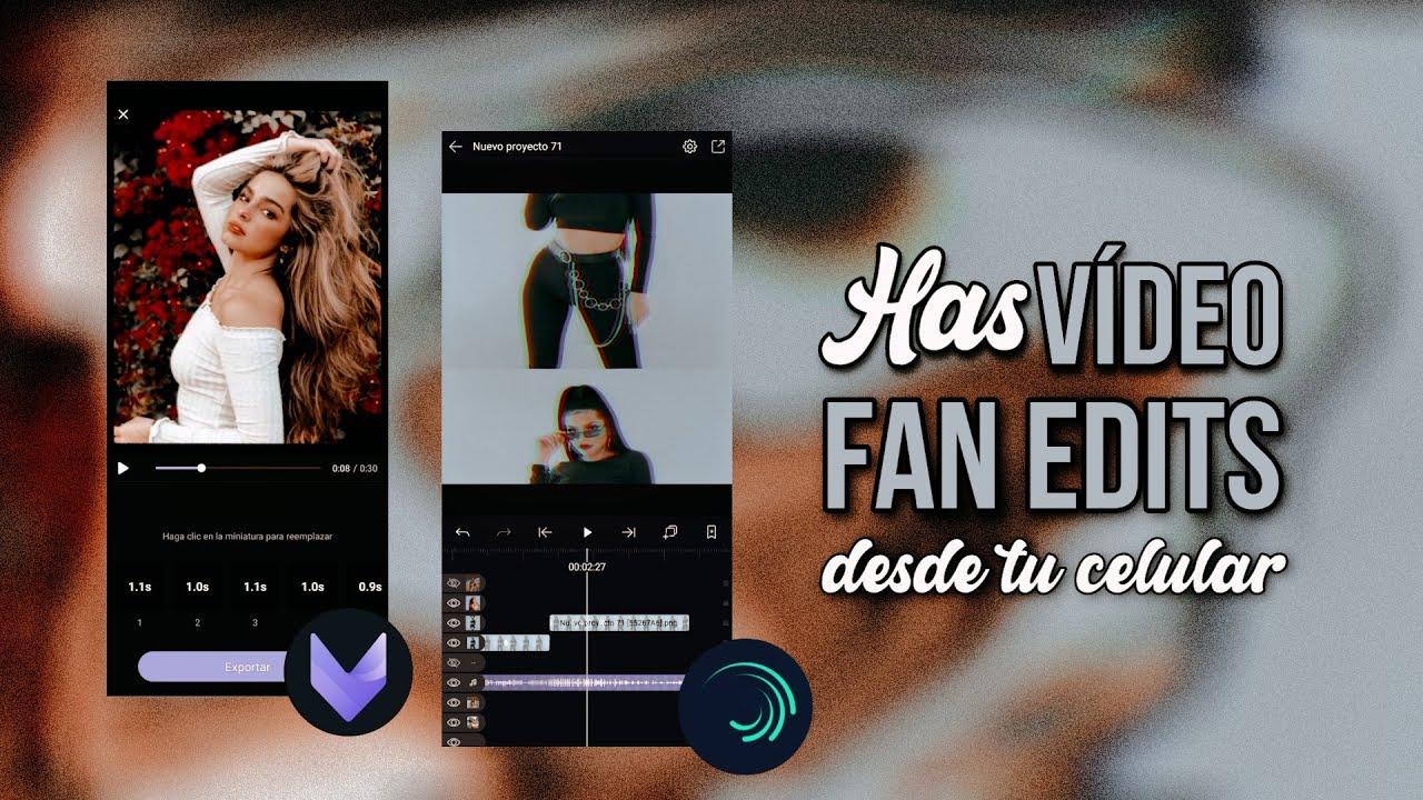¡Cómo hacer Vídeo Edits en el celular! ~2 maneras (VivaCut y Alight Motion)