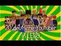 Download 20 deutsche Youtuber in LEGO
