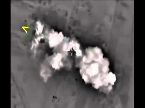 Удары авиации РОССИИ по ИГИЛ в СИРИИ RUSSIA air strikes on the ISIS in Syria