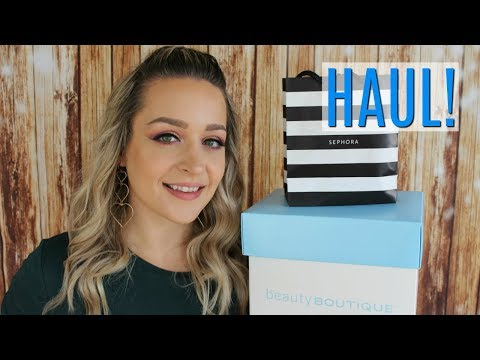 HAUL! Sephora & Shoppers Drug Mart SDM Makeup Haul!