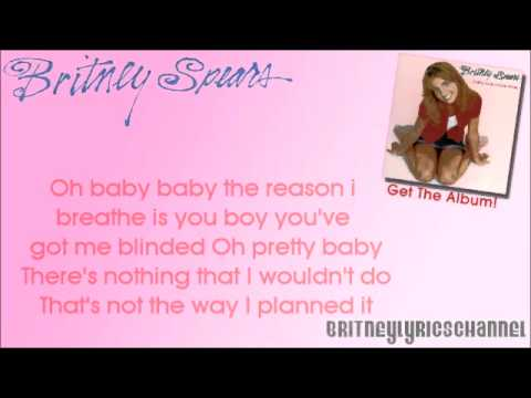 Britney Spears - Baby One More Time (On-Screen Lyrics)