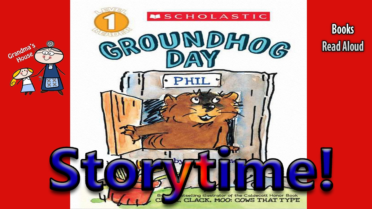 Uncategorized Groundhog Day Stories storytime groundhog day read aloud story time bedtime along books