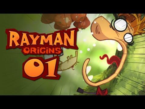 Rayman Origins CO-OP #1 - Rayman Oranges!