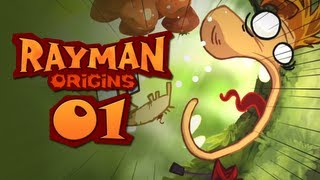 Repeat youtube video Rayman Origins CO-OP #1 - Rayman Oranges!
