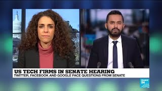 In moderation: US tech firms front Senate hearing over bias claims
