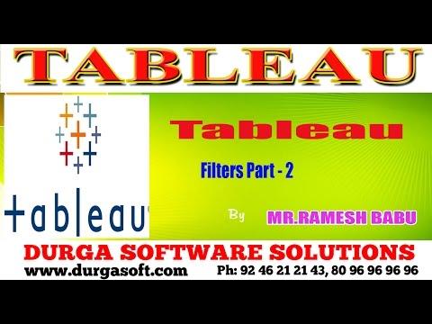 Tableau ||  Filters Part -  2