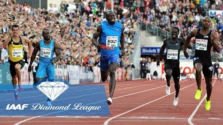 The 8 Fastest Ever Men to Run a Diamond League 100m - IAAF Diamond League