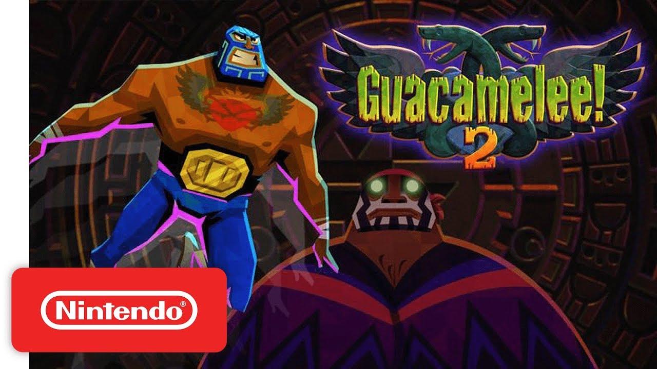 Resultado de imagem para Guacamelee! 2 switch