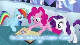 TOP 10 The Best Songs in foreign versions of MLP:FiM SEASON 3