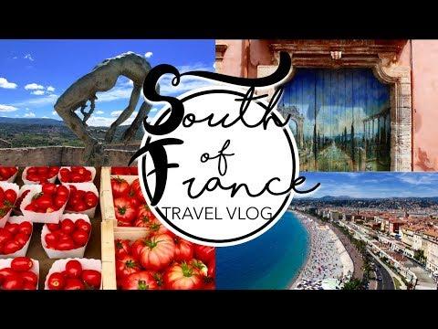 TRAVEL VLOG │South Of France ✈ Nice, Provence, Saint Tropez, Arles, Roussillon │ 2017