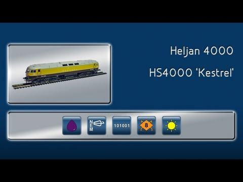 Opening the Hawker Siddeley Kestrel by Heljan
