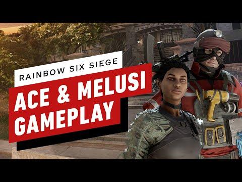 Rainbow Six Siege: Ace And Melusi Gameplay