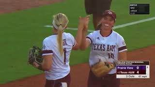 Softball: Highlights | A&M 9, Prairie View 0