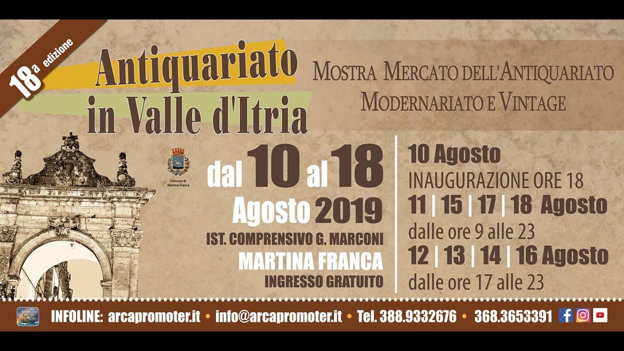 Calendario Mercatini Antiquariato Puglia.Arca Promoter Associazione Culturale
