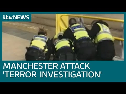 Manchester stabbings suspect detained under Mental Health Act amid 'terror investigation' | ITV News