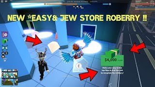 HOW TO ROB *LATEST* EASY JEW STORE IN ROBLOX JAILBREAK