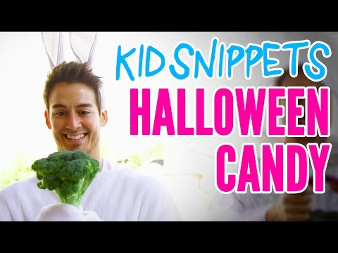 """Kid Snippets: """"Halloween Candy"""" (Imagined by Kids)"""