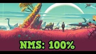 No Mans Sky - 100% Completing a Planet Exploration