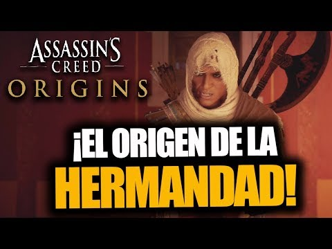 ¡LA CREACIÓN DE LA HERMANDAD! - Assassin's Creed Origins - RAFITI