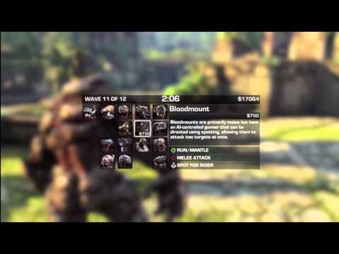 Gears of War 3: Beast Mode - BERSERKER RAMPAGE! (Gameplay / Live Commentary)