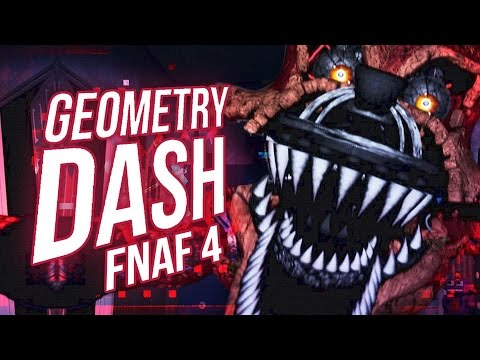 GEOMETRY DASH: FIVE NIGHTS AT FREDDY'S 4