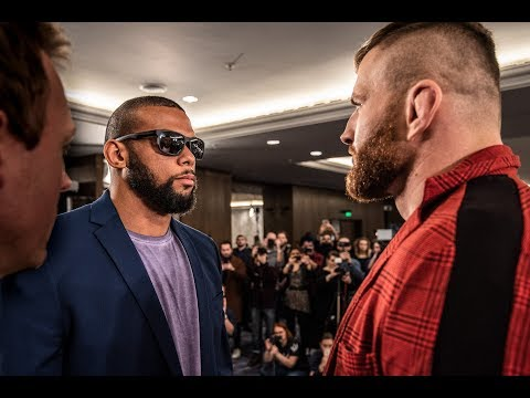 UFC Praga: encaradas do Media Day