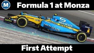 First F1 race | F1 @ Monza | iRacing.com
