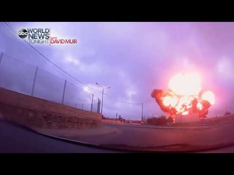 Plane Crash In Malta [CAUGHT ON TAPE]