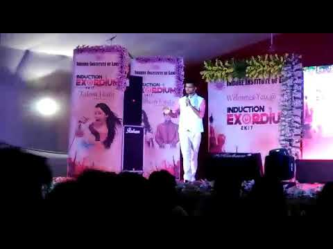 कॉलेज में कॉमेडी Amazing stand-up comedy in indore institute of law college by sourav raj