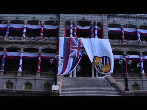 These are the Royal Monarchy Buildings still standing in Honolulu, Hawaii