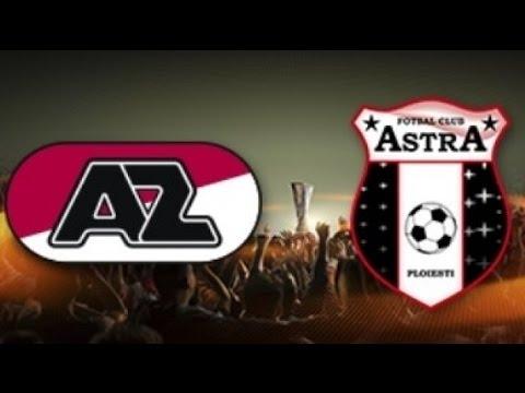 AZ Alkmaar 2 - 0 Astra Giurgiu