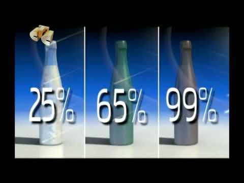 Как перерабатывают стеклянные бутылки. Переработка  стеклянных бутылок.