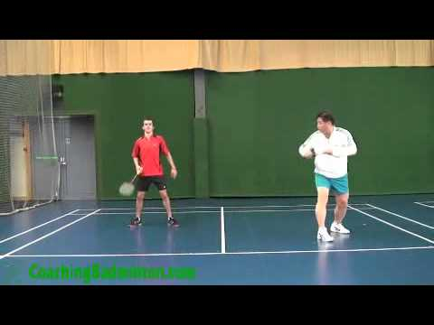 Badminton: Basic Positioning Practice for Doubles